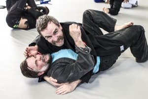Jiu-Jitsu Students Smiling